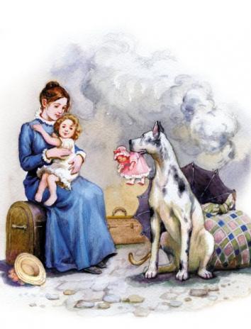 Пожарные собаки, Рассказ