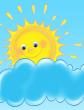 Солнце и туча, Сказка