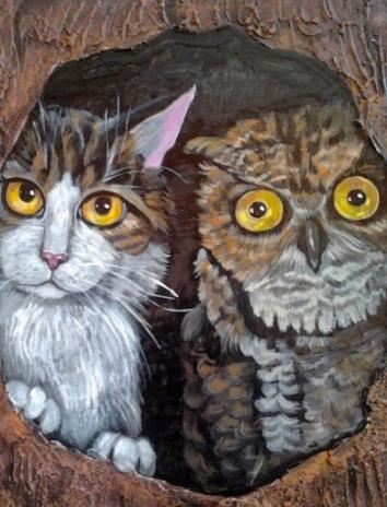 Сова и Кот, Сказка