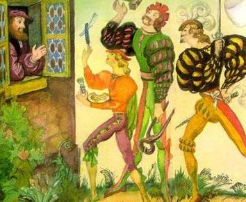 Три фельдшера, Сказка