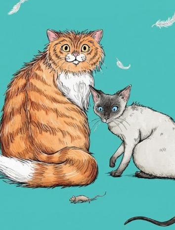 На ночь про кошек, Сказка