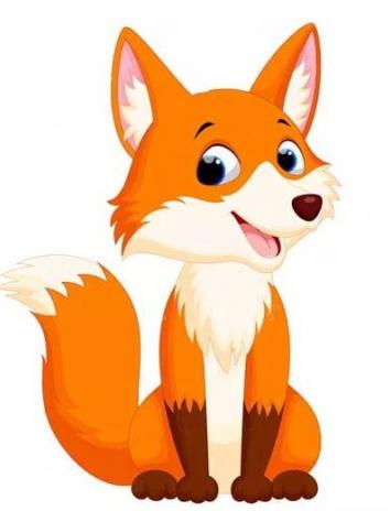 На ночь про лисичку, Сказка