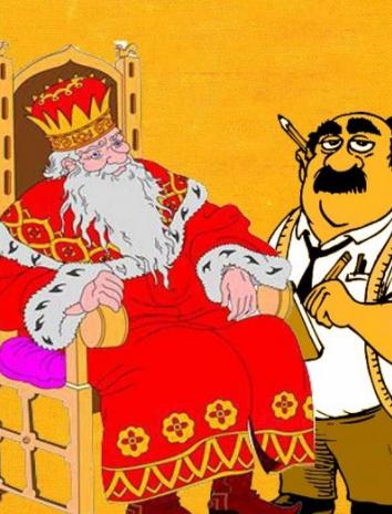 Царь и портной, Сказка