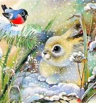 Сказка «Мороз и заяц»