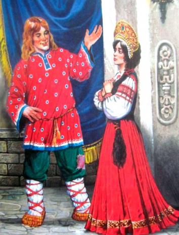 Сказка Наказанная царевна, Русская народная сказка
