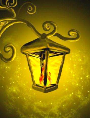 Старый уличный фонарь, Сказка