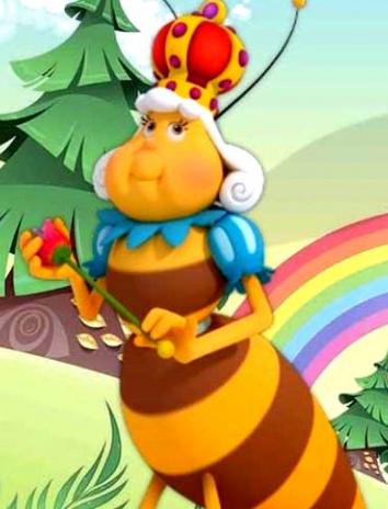 Сказка Царица пчел, Братья Гримм