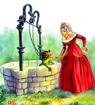 Сказка Король-лягушонок или Железный Генрих, Братья Гримм