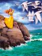 Шесть лебедей, Сказка