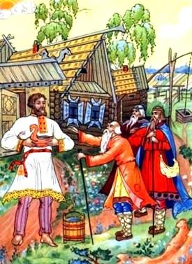 Сказка Безногий и безрукий богатыри, Русская народная сказка