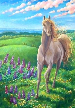 Чудесный конь, Сказка