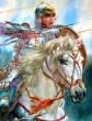 Девица на войне, Сказка