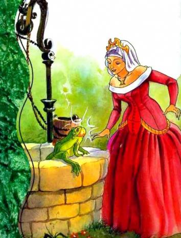 Сказка Источник на краю света, Английская народная сказка