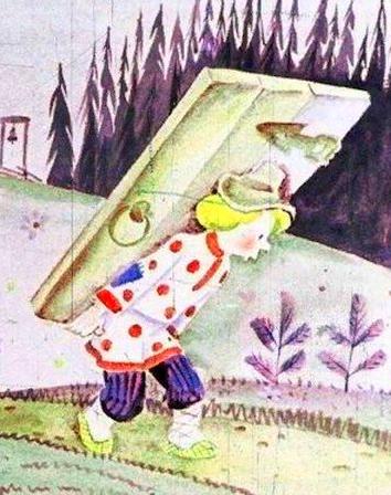 Сказка Как Иван-дурак дверь стерёг, Русская народная сказка