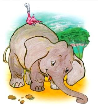 Сказка Как появился слон, Африканская народная сказка