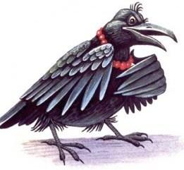 Как ворона пиво делала, Сказка