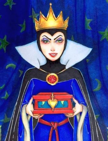Королева-ведьма, Сказка