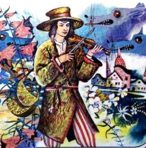 Сказка Музыкант-чародей, Белорусская народная сказка