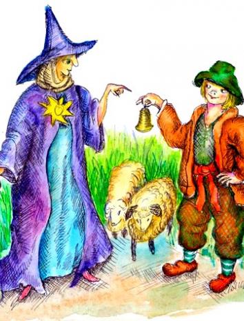 Сказка Серебряный колокольчик, Немецкая народная сказка