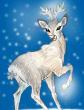 Серебряный олень