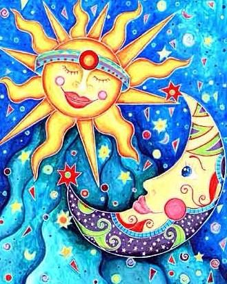 Солнце и Луна, Сказка
