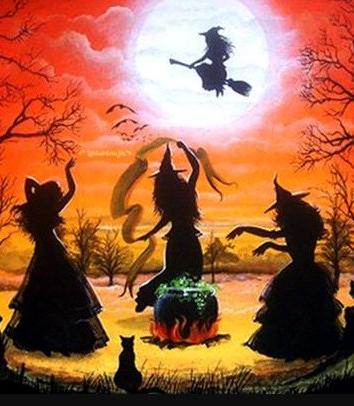 Ведьмы на Лысой горе, Сказка
