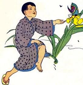 Сказка Врун, Японская народная сказка