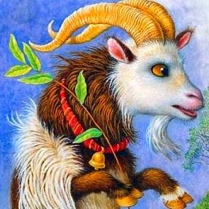 Хитрый козёл, Сказка