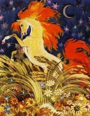Сказка Золотой конь, Русская народная сказка