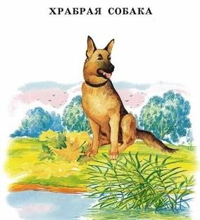 Сказка Храбрая собака, Константин Ушинский