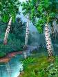 Лес и ручей, Басня
