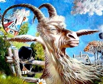 Страшная коза, Сказка