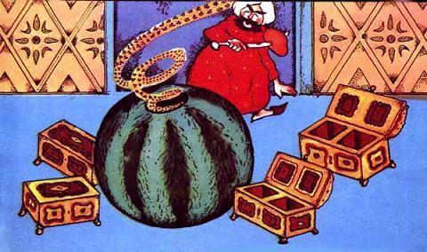 Сказка Аист, Персидская сказка
