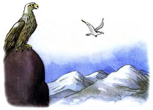 доктор Айболит орлы в горах