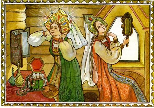 Сказка Аленький цветочек, Аксаков С Т