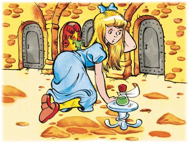 Алиса выбирает дверь