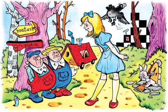 Сказка Алиса в Зазеркалье, Кэрролл Льюис