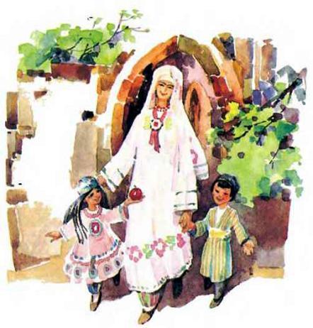 Баба Яга и ее внучки Ягобабочки