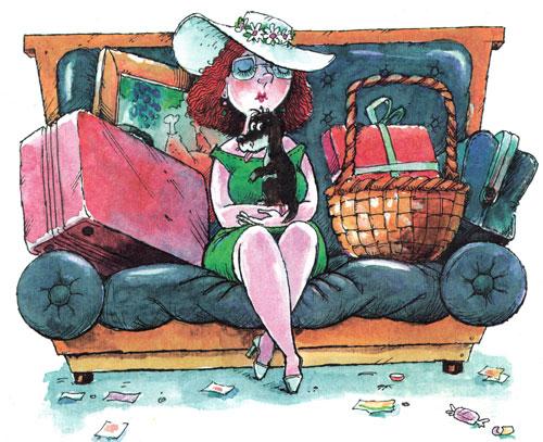 Дама с собачкой и багажом
