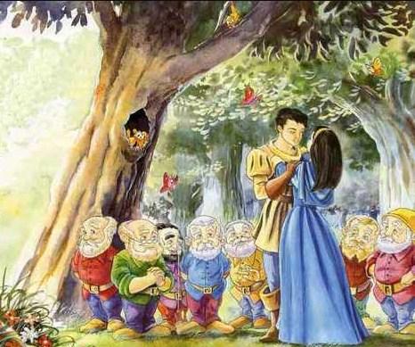 Сказка Белоснежка и семь гномов, Братья Гримм
