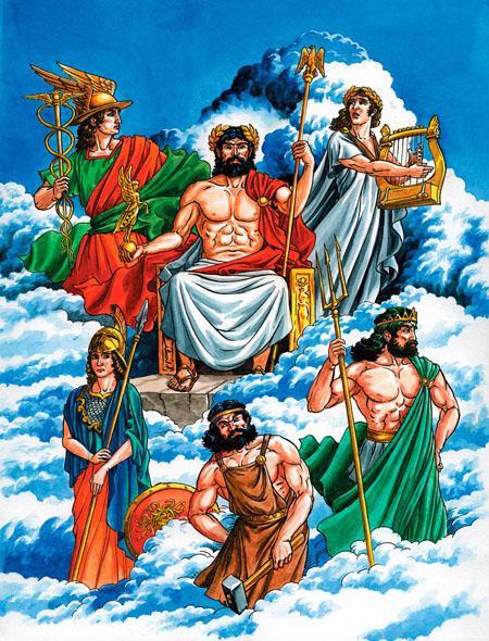 Боги - олимпийцы