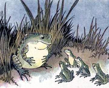 Бык и жаба
