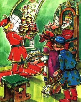 иван царевич поднес каравай отцу царю