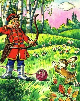 встретился ивану царевичу заяц