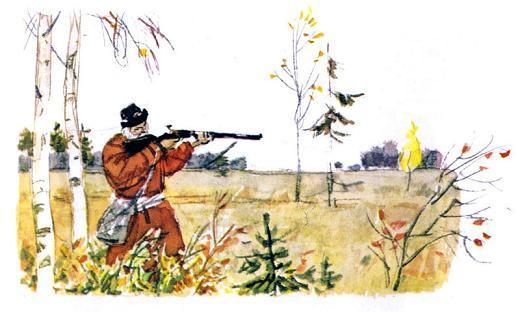 Дед Мазай на охоте
