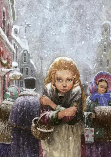 Девочка со спичками сказка Андерсена