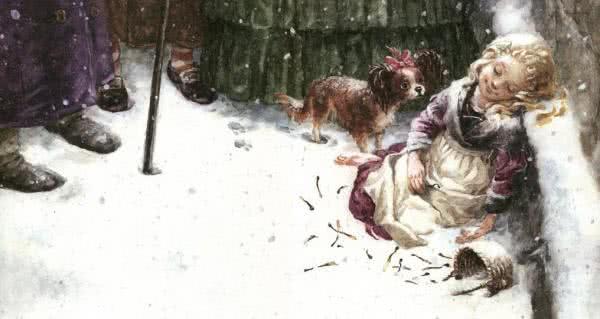 Девочка со спичками - Ганс Христиан Андерсен