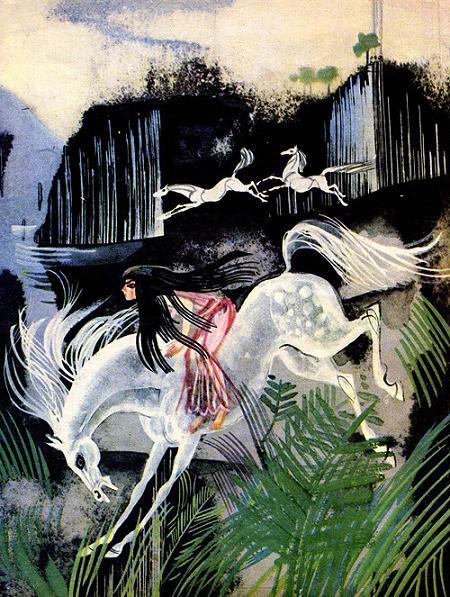 Дочь болотного царя верхом на белом коне