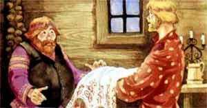 Иван-бедняк и дал скатерть-самобранку