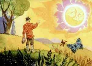 пошел Иван солнце искать